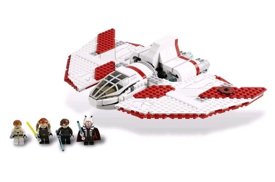 Lego 7931 Star Wars Raketoplán Jediů T-6