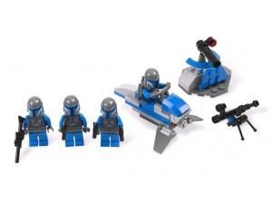 obrázek Lego 7914 Star Wars Bojová jednotka Mandalorianů