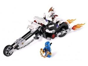 obrázek Lego 2259 Ninjago Motorka kostlivců