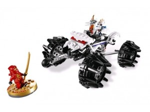 obrázek Lego 2518 Ninjago Nuckal ATV