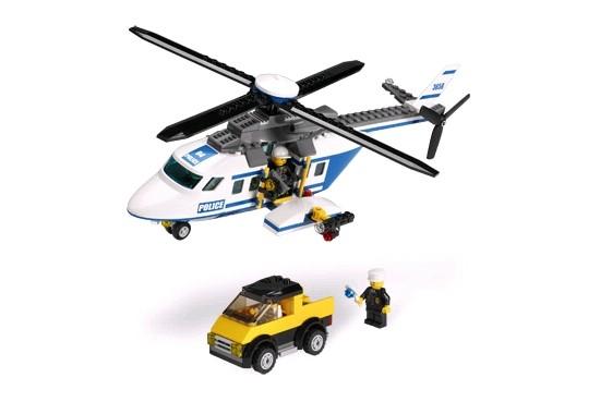 Lego 3658 City Policejní vrtulník