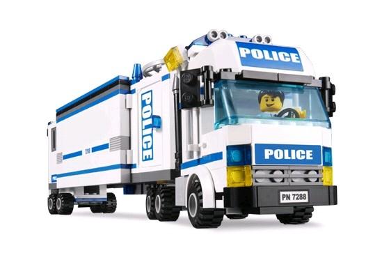 Lego 7288 City Mobilní policejní kamion