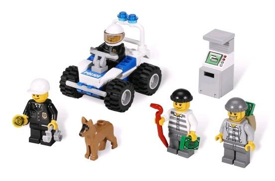 Lego 7279 City Soubor policejních minifigurek