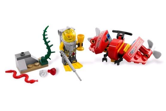 Lego 7976 Atlantis Oceánský průzkumník