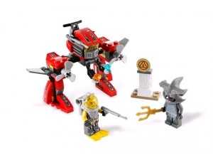 Lego 7977 Atlantis Podmořský robot