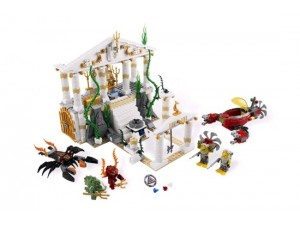 Lego 7985 Atlantis Bájná Atlantida