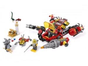 obrázek Lego 7984 Atlantis Hlubokomořské rypadlo