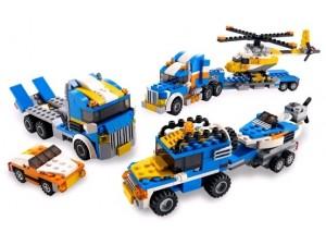 obrázek Lego 5765 Creator Kamion s helikopterou