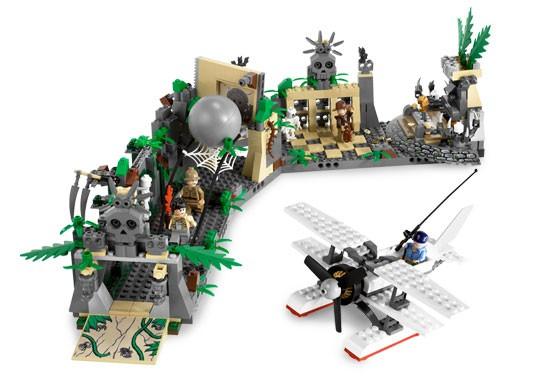 Lego 7623 Indiana Jones Útěk z chrámu
