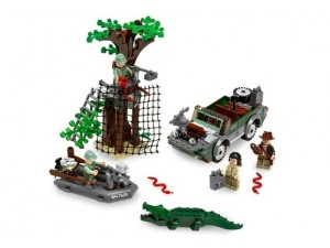 obrázek Lego 7625 Indiana Jones Honička v řece