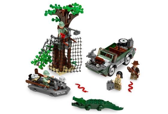 Lego 7625 Indiana Jones Honička v řece