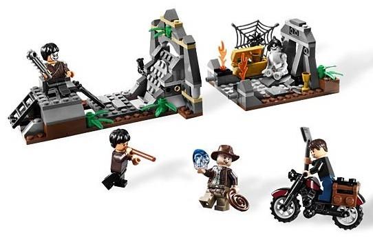 Lego 7196 Indiana Jones Chauchilla Cemetery Battle