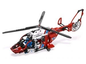 obrázek Lego 8068 Technic Záchranný vrtulník