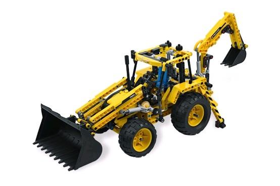 Lego 8069 Technic Nakladač se zadní lžcí
