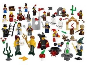 obrázek Lego 9349 Fairytale and Historic Minifigure Set
