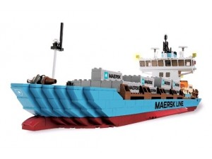 obrázek Lego 10155 Maersk - kontejnerová loď
