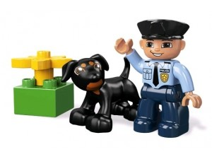 obrázek Lego 5678 Duplo Policista