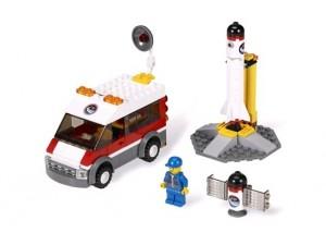 obrázek Lego 3366 City Odpalovací rampa pro satelity