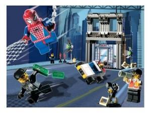 obrázek Lego 1376 Spiderman Action Studio