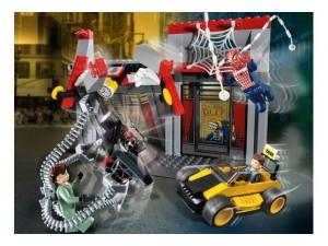 obrázek Lego 4860 Spiderman Doc Ock Cafe attack