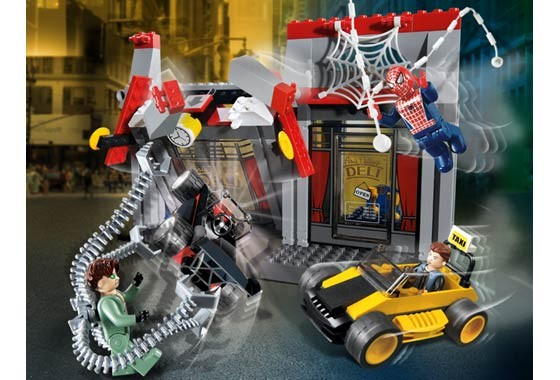 Lego 4860 Spiderman Doc Ock Cafe attack