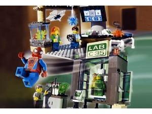 Lego 4851 Spiderman The Origins