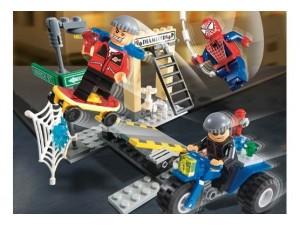 obrázek Lego 4853 Spiderman Spider-Man's Street Chase