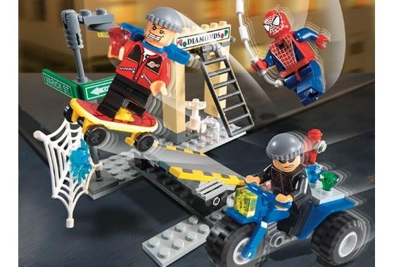 Lego 4853 Spiderman Spider-Man's Street Chase