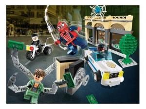 obrázek Lego 4854 Spiderman Doc Ock's Bank Robbery