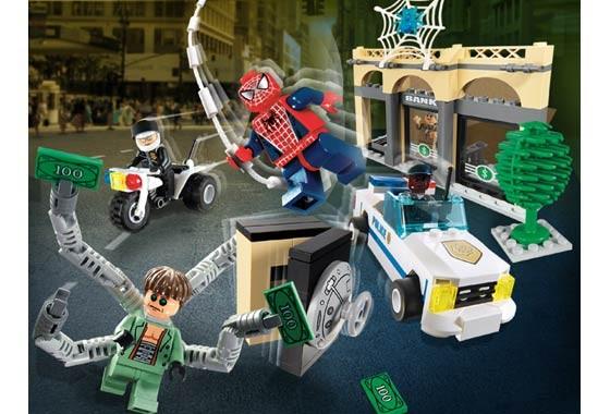 Lego 4854 Spiderman Doc Ock's Bank Robbery