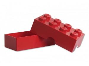 obrázek Lego dóza na svačinu červená