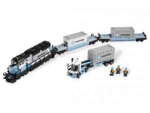 obrázek Lego 10219 Nákladní vlak Maersk