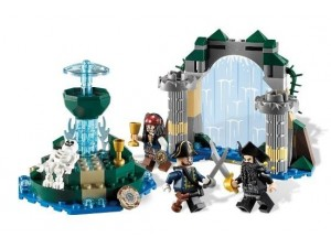 obrázek Lego 4192 Piráti z Karibiku Fontána mládí