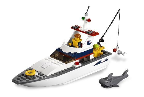 Lego 4642 City Rybářský člun