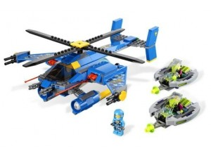obrázek Lego 7067 Alien Conquest Jet-copter encounter