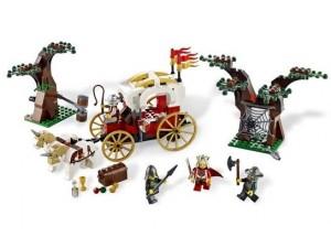 obrázek Lego 7188 Kingdoms Přepadení královského vozu