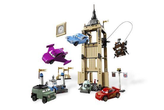 Lego 8639 Cars Big Bentley na útěku