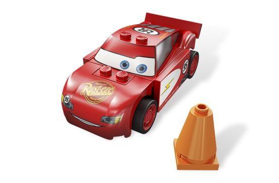 Lego 8200 Cars Kardanová Lhota - Blesk McQueen