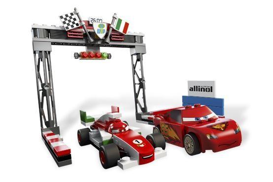 Lego 8423 Cars Velká cena mistrovství světa - pres