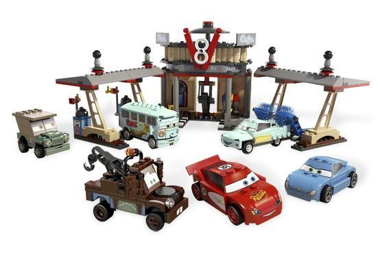 Lego 8487 Cars Kavárna Flo V8