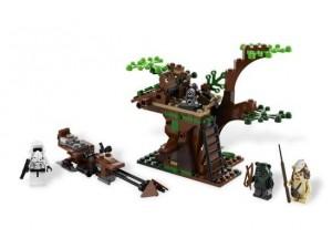obrázek Lego 7956 Star Wars Ewok Attack The Endor Battle