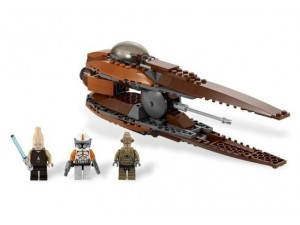 Lego 7959 Star Wars Geonosian Starfighter