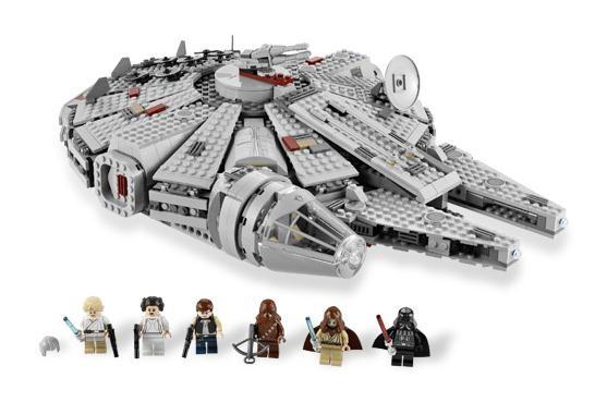 Lego 7965 Star Wars Millenium Falcon