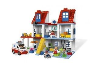 obrázek Lego 5795 Duplo Velká městská nemocnice