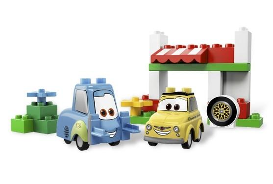 Lego 5818 Duplo CARS Italský podnik Luigi
