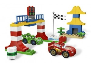 obrázek Lego 5819 Duplo CARS Závod v Tokiu