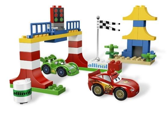 Lego 5819 Duplo CARS Závod v Tokiu