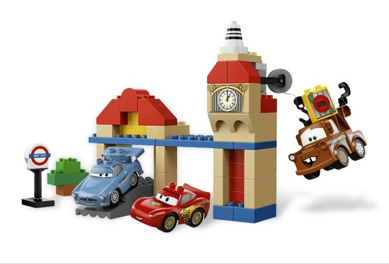 Lego 5828 Duplo CARS Big Bentley