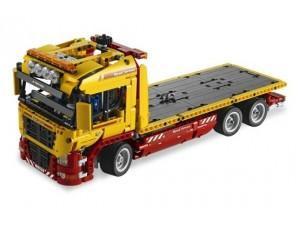 obrázek Lego 8109 Technic Náklaďák s podvalníkem
