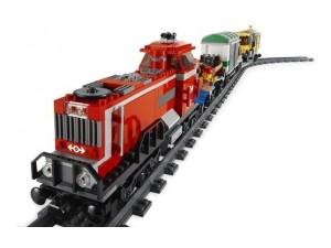 Lego 3677 City Červený nákladní vlak